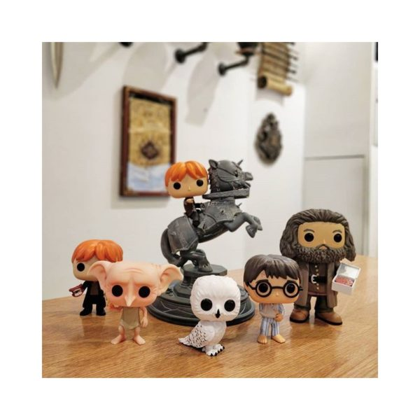 figurine pop harry potter bras cassé ludygame