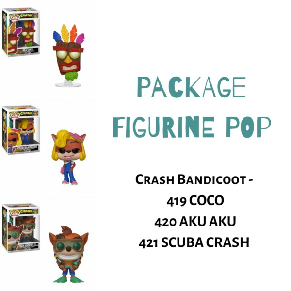 Package Figurine POP ludygame